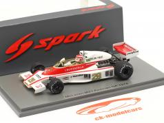 Nelson Piquet McLaren M23 #29 Áustria GP Fórmula 1 1978 1:43 Spark