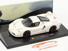 Ferrari FXX blanco 1:43 HotWheels Elite
