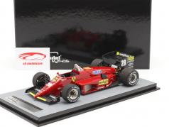 S. Johansson Ferrari 156/85 #28 alemão GP Fórmula 1 1985 1:18 Tecnomodel