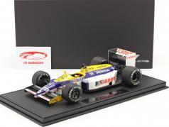 Nelson Piquet Williams FW11 #6 formula 1 1986 with showcase 1:18 GP Replicas