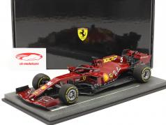 Vettel / Leclerc Ferrari SF1000 #5 #16 1000th GP Ferrari Tuscan GP F1 2020 1:18 BBR