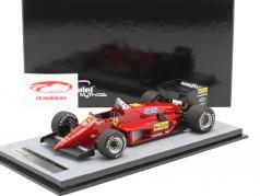 Michele Alboreto Ferrari 156/85 druk op versie formule 1 1985 1:18 Tecnomodel