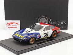 Ferrari 365 GTB/4 Daytona #39 5 ª 24h LeMans 1972 1:18 TopMarques