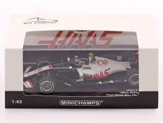 Mick Schumacher Haas VF-20 #50 Abu Dhabi Test formula 1 2020 1:43 Minichamps