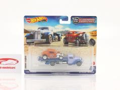 Set Team Transport: Ford Hot Rod 1932 & Speed Waze 1:64 HotWheels