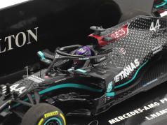 L. Hamilton Mercedes-AMG F1 W11 #44 vincitore Stiria GP formula 1 Campione del mondo 2020 1:43 Minichamps