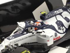 P. Gasly Alpha Tauri AT01 #10 winnaar Italiaans GP formule 1 2020 1:43 Minichamps