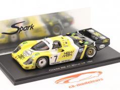 Porsche 956 #7 Winner 24h Le Mans 1984 Ludwig / Pescarolo Spark 1:43