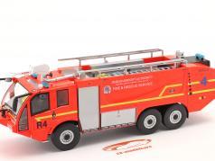 Sides S3X Пожарная часть Пожарная машина Аэропорт Dublin 2012 красный 1:43 Altaya