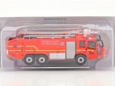 Sides S3X pompiers Camion de pompier Aéroport Dublin 2012 rouge 1:43 Altaya