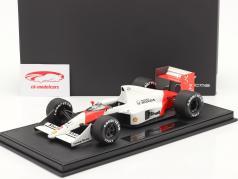A. Prost McLaren MP4/5 #2 Fórmula 1 Campeão mundial 1989 Com Mostruário 1:18 GP Replicas