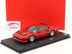 Ferrari 208 GTB Turbo year 1982 corsa red 1:18 BBR