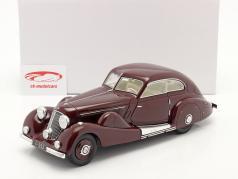 Mercedes-Benz 500K Speciaal Gestroomlijnde auto 1935 roodbruin 1:18 Matrix