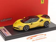 Ferrari SF90 Stradale Ano de construção 2019 Montecarlo amarelo 1:43 LookSmart
