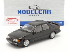 Ford Sierra Cosworth Año de construcción 1988 negro 1:18 Model Car Group