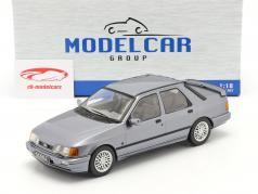 Ford Sierra Cosworth Anno di costruzione 1988 grigio-blu metallico 1:18 Model Car Group
