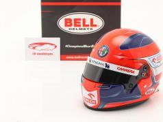 Robert Kubica Alfa Romeo Racing Orlen formula 1 2021 helmet 1:2 Bell