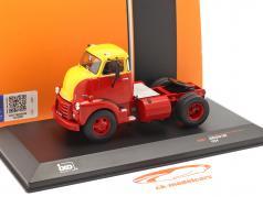 GMC 950 COE Truck  year 1954 red / yellow 1:43 Ixo