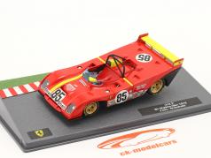 Ferrari 312 PB #85 勝者 6h Watkins Glen 1972 Andretti, Ickx 1:43 Altaya