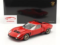 Lamborghini Miura SVR year 1970 red / black 1:18 Kyosho