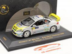 プジョー307 WRCラリーRACCカタルニア2006#19 1:43完成モデル