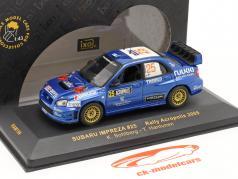 Subaru Impreza #25 Rally Acrópolis 2005 una y cuarenta y tres minutos Ixo