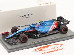 Esteban Ocon Alpine A521 #31 Bahrain GP Fórmula 1 2021 1:43 Spark