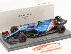 Esteban Ocon Alpine A521 #31 Bahrein GP formule 1 2021 1:43 Spark