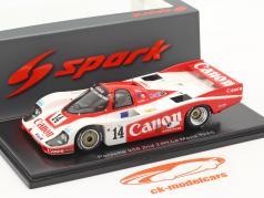 Porsche 956 #14 2. plads 24h LeMans 1985 Palmer, Weaver, Lloyd 1:43 Gnist