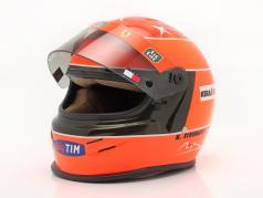 M. Schumacher Ferrari F1-2000 Vencedora Japão GP Fórmula 1 Campeão mundial 2000 capacete 1:2 Bell