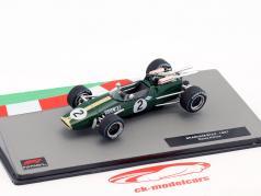 Denis Hulme Brabham BT24 #2 формула 1 Чемпион мира 1967 1:43 Altaya