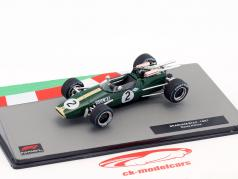 Denis Hulme Brabham BT24 #2 formula 1 World Champion 1967 1:43 Altaya