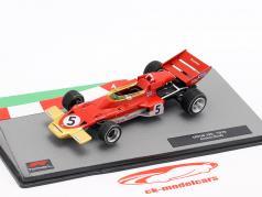 Jochen Rindt Lotus 72C #5 Fórmula 1 Campeão mundial 1970 1:43 Altaya