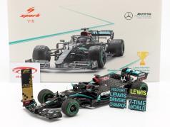 L. Hamilton Mercedes-AMG F1 W11 #44 Campione del mondo tacchino GP F1 2020 1:18 Spark