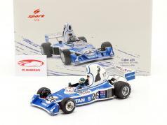 Jacques Laffite Ligier JS5 #26 4º Long Beach GP Fórmula 1 1976 1:18 Spark