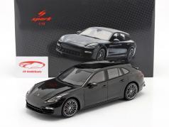 Porsche Panamera GTS Sport Turismo Baujahr 2018 schwarz 1:18 Spark