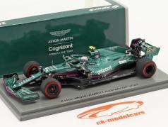 Sebastian Vettel Aston Martin AMR21 #5 Bahrain GP Fórmula 1 2021 1:43 Spark