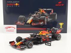 M.Verstappen Red Bull Racing RB16 #33 Vencedora 70th Anniversary GP 2020 1:18 Spark