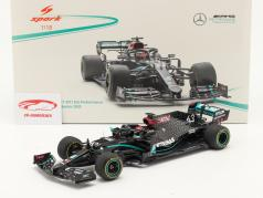 George Russell Mercedes-AMG F1 W11 #63 Sakhir GP formula 1 2020 1:18 Spark