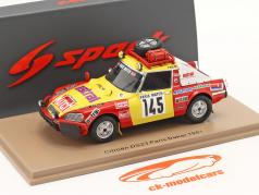シトロエン DS23 #145 Rallye Paris - Dakar 1981 Roncin, Quenti, Darmendrail 1:43 Spark