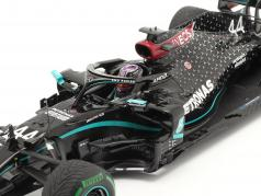 L. Hamilton Mercedes-AMG F1 W11 #44 世界チャンピオン 七面鳥 GP F1 2020 1:18 Spark