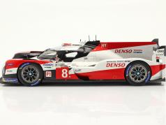 Toyota TS050 Hybrid #8 Winnaar 24h LeMans 2020 Buemi, Nakajima,Hartley 1:18 Spark