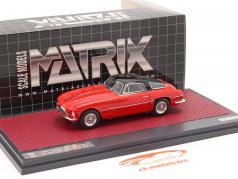 Ferrari 250 Europa Coupe Vignale 1954 rood / zwart 1:43 Matrix