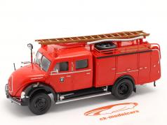 Magirus Deutz Mercur TLF 16 Пожарная часть Madrid красный 1:43 Altaya