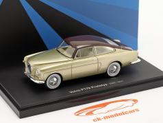 Volvo P179 опытный образец Год постройки 1952 золото / коричневый 1:43 AutoCult