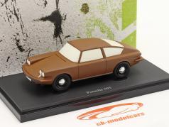Porsche 695 bouwjaar 1957 bruin 1:43 AutoCult