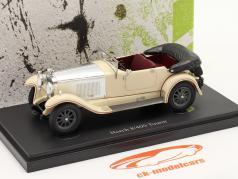 Horch 8/400 Tourer Baujahr 1930 elfenbein / silber 1:43 AutoCult