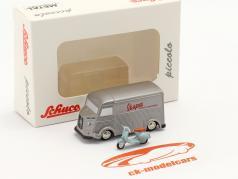 Citroen HY Vespa Kundendienst silber 1:90 Schuco Piccolo