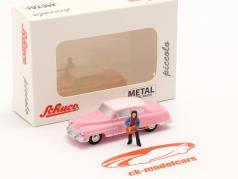 Cadillac Eldorado Elvis The King розовый 1:90 Schuco Piccolo