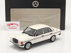 Mercedes-Benz 200 (W123) Ano de construção 1980 - 1985 branco clássico 1:18 Norev